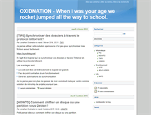 Tablet Preview of blog.oxidnation.be